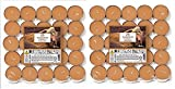 Price's Candles 021934D Aladino Zimt-Teelichter, 50 Stück