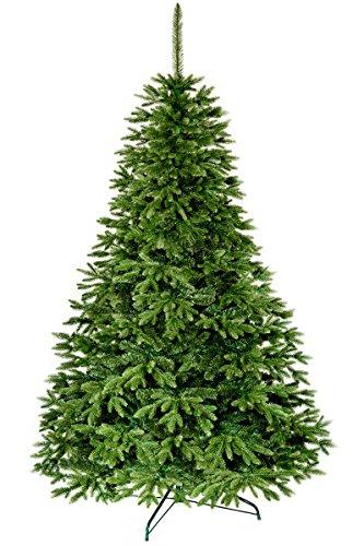 Premium Platinum Natürliche Fichte 180 - 250 cm hochwertiger künstlicher Weihnachtsbaum einschließlich eines Ständers (Zweig Skinny)