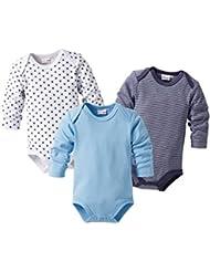 BORNINO Body langarm 3er-Pack Baby