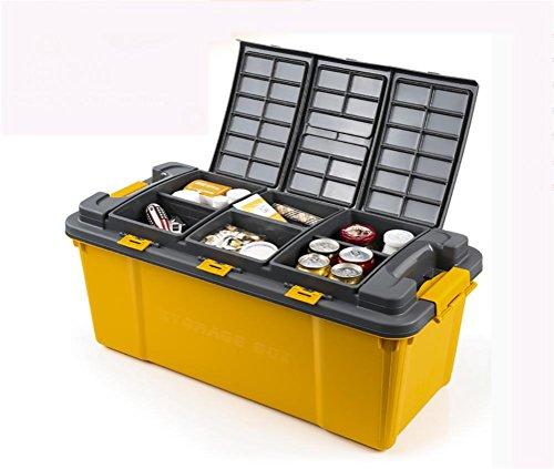 RUIRUI Premium SUV Organizzatore, più semplice e più durevole Organizzatore Tronco , yellow