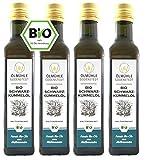 Bio Schwarzkümmelöl 1 Liter (4x250ml) direkt aus der Ölmühle Godenstedt