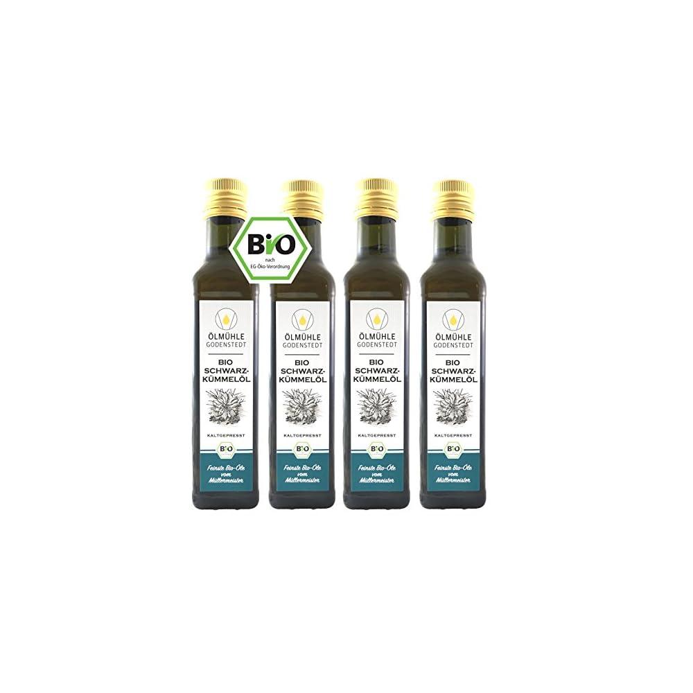 Bio Schwarzkmmell 1 Liter 4x250ml Direkt Aus Der Lmhle Godenstedt