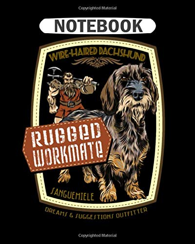 Notebook: dachshund_rugged_workmate  College Ruled - 50