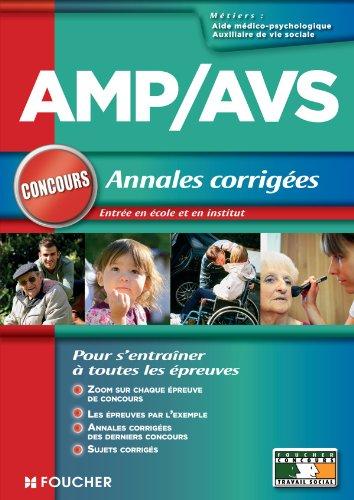 AMP - AVS - Annales corrigées Concours