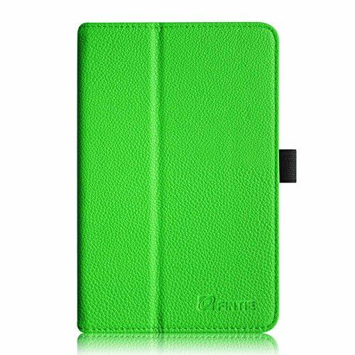 Fintie Acer Iconia Tab 8 A1-840 FHD Hülle – Hochwertige Kunstleder Slim Fit Stand Case Cover Schutzhülle Tasche Etui für Acer Iconia A1-840 FHD (8 Zoll) Tablet, Grün