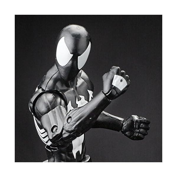 Marvel Spiderman Serie Legends Symbiote Spiderman, de 15,24 cm, diseño de Spider-Man 7