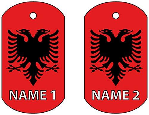 Deodorante per Auto Personalizzato Targhetta per Cani Albania Dog T