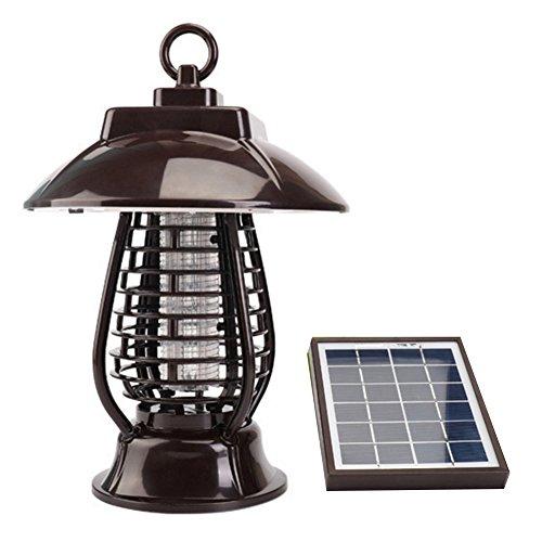 Outdoor Solar Mosquito Fly Bug, USB-Mosquito Killer Licht Mosquito Licht Insektenvernichter Lampe für Garten Outdoor Places Garten Terrasse Yard (Bug Zapper Handheld)