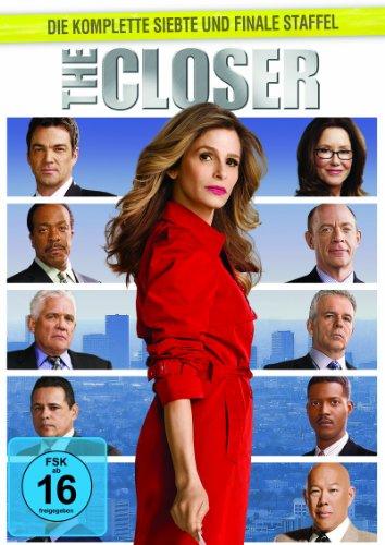 The Closer - Die komplette siebte Staffel [5 DVDs] -