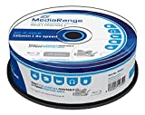 25 BD-R Blu Ray vergini Mediarange 25GB 120Min stampabili full face printable