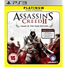 Assassins Creed II: Game of The Year - Platinum Edition (PS3)
