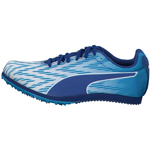 Puma Evospeed Star 5.1, Chaussures de Trail Mixte Adulte Puma White-Blue Danube-True Blue