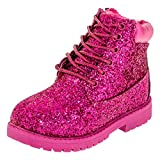 Gefütterte warme Classic Boots für Mädchen mit Glitzer in vielen Farben M467pi Pink 33 EU