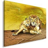 Amazon Fr Deco Lion Tableaux Posters Et Arts Decoratifs
