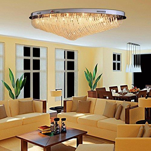24 * G4 luce moderna del soffitto di cristallo, creativo luce soffitto di cristallo per soggiorno, camera da letto e semplice luce di soffitto di cristallo