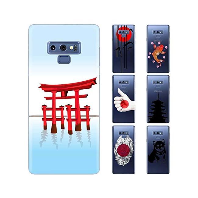 dessana Japan Transparente Schutzhülle Handy Case Cover Tasche für Samsung Galaxy S Note