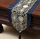KLHNJ Table Runner Tischläuferproud Rose Satin Tisch Flag Tischdecke Einfache Teetisch Flagge Bett Flagge Heimtextilien * 33 * 230 cm