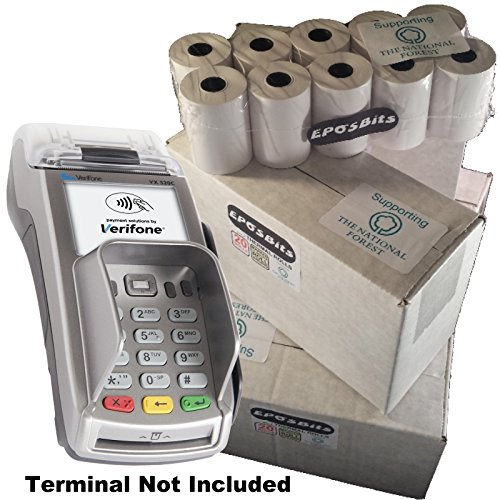 l Größe große Rolls to Fit Verifone vx520C VX 520C Kreditkarte Terminal?100Rollen ()