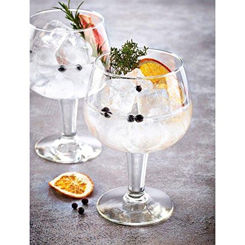 DUROBOR Gusto Lunettes Gin and Tonic espagnol Ballon Copa - 660ml - Lot de 2