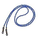 Homyl Cinturino Cavo per Occhiali Da Sole Cordino String Holder Per Eyeglasses Acccessori di Pesca/Mountain Bike/Escursionismo - Azzurro, 76 cm