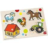 Puzzle Bauernhof: Formen erkennen und Richtig einsetzen