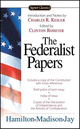 The Federalist Papers (Signet Classics) por Alexander Hamilton