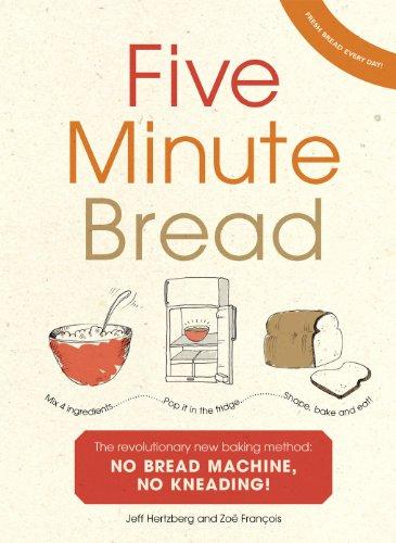 Five Minute Bread: The revolutionary new baking method: no bread machine, no kneading! (English Edition) Crumb-scraper