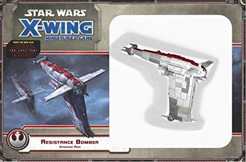 Fantasy Flight Games,Star Wars, Resistance-Bomber-Expansion-Pack FFGSWX67, X-Wing-Miniatur-Spielzeug, Mehrfarbig.