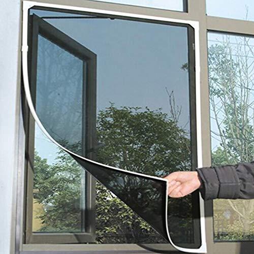 VICKY-HOHO Indoor Insekt Fly Screen Vorhang Mesh Bug Mosquito Netting Tür Fenster schwarz -