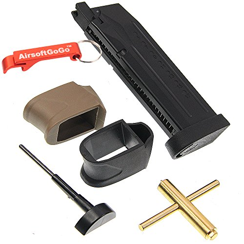 WE CO2 22RD CARGADOR PARA WE M&P AIRSOFT GBB Opiniones AIRSOFTGOGO SCHL?SSELANH?NGER INKLUSIVE