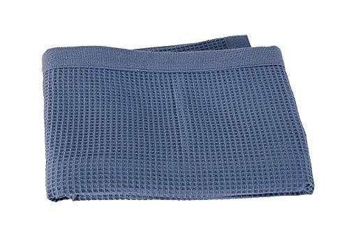 Taubert Spa Thalasso Saunatuch 200 x 75 cm leichtes Waffelpikee Jeans