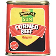 Tropical Sun Halal Corned Beef 340 g (pack of 12)