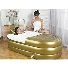 Práctico portátil inflable infantil bañera para adultos Sauna Bath La bañera plegable QLM-Bañera inflable