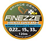 Savage Gear, FINEZZE HD4, geflochtener Schnur, 4000m (0,13 mm)