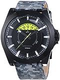 Diesel Herren-Armbanduhr XL Analog Quarz Leder DZ1658