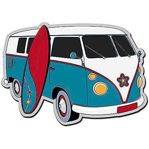 Adesivo in vinile, motivo: camper VW, Surf,