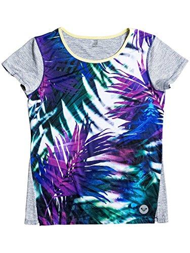 Roxy Damen Cutback T-Shirt sea salt jungle times