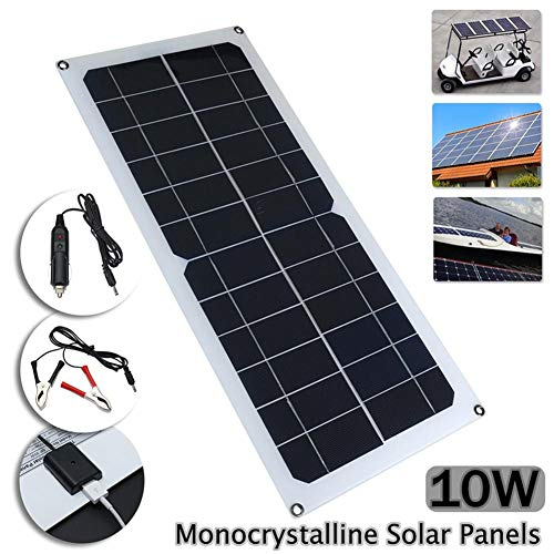 Cable De Yunn Panel Con 5521 10w Cargador Dc Para Del El Solar EH9IYeD2W