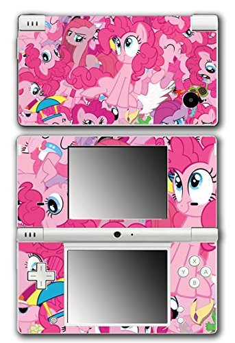 My Little Pony Friendship is Magic MLP Pinkie Pie Video Game Vinyl Decal Skin Sticker Cover for Nintendo DSi System by Vinyl Skin Designs (Pie Decal Vinyl Pinkie)