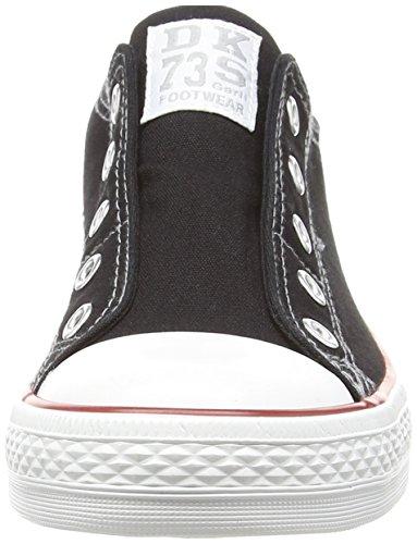 Dockers by Gerli Damen 36ur202-710100 Sneakers Schwarz (Schwarz 100)