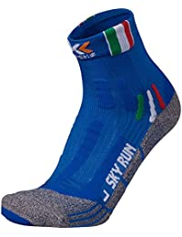 X-bionic Sky Run 2.0 Limited Patriot Edition calzini running-Blu-42-44