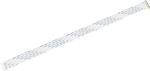 sourcing map Cavo Flessibile Piatto 30 Perno Passo 0.5mm 400mm FPC FFC Cavo Nastro Tipo B
