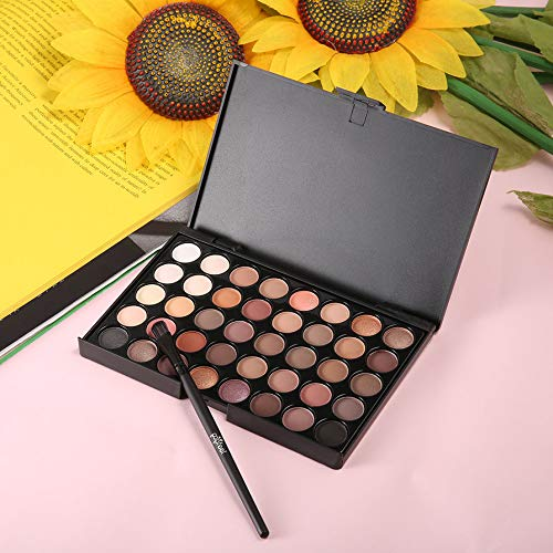 40 Colors Set Women Facial Cosmetic Makeup Eyeshadow Palette Personal Eye Shadow Cosmetic Tools With Brush