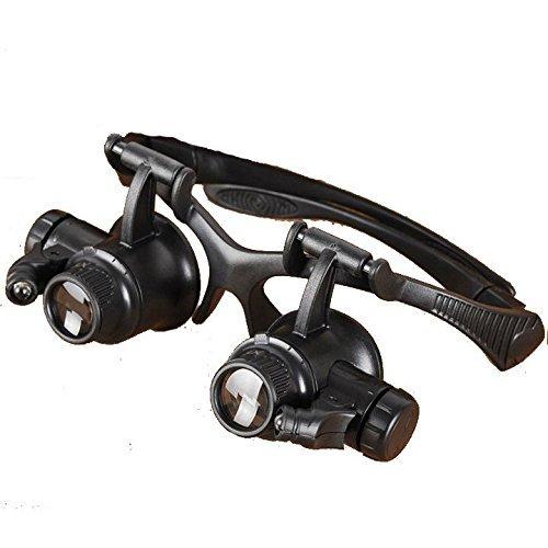 10x 20x 15x 25x Eye LED-Uhr Juwelier Gläser Reparatur Lupe Lupe