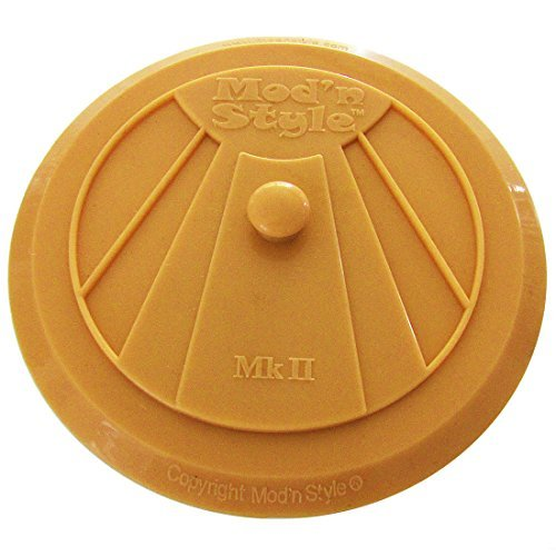 silicone-drain-plug-for-kitchen-bathroom-laundry-with-unique-retro-art-deco-design-orange