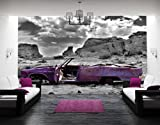 Foto Wandbild Wandbild No. 56'CADILLAC in pink' 400x Weinlaub, Maße: 280x 400