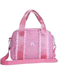 YiZYiF – Bolso bandolera para niña bolsa de ballet Danza con correa  desmontable bolsa con borlas (mano para Ranger los… d324d92ccd8f0