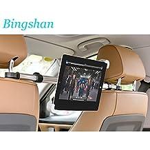 Soporte universal tablet ipad DVD para compartir zona trasera del coche autocaravana caravana giratorio 360 º soporte de seguridad instalacion en segundos de OPEN BUY