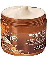 Avon Care Beurre de Cacao Crème Visage Taille XL 400ml corps mains