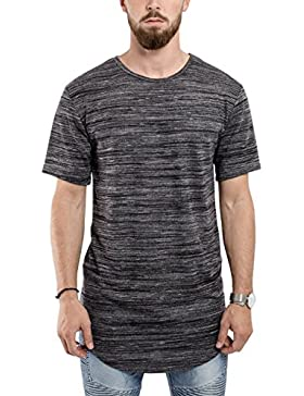 Phoenix Oversize Round T-Shirt Herren Longshirt Long Tee - Langes Shirt S,M,L,XL